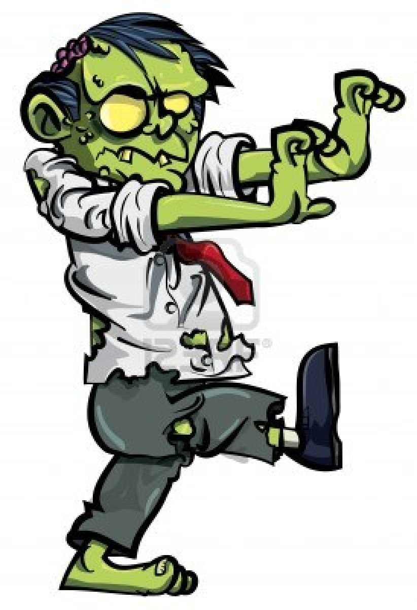 Real zombie clipart