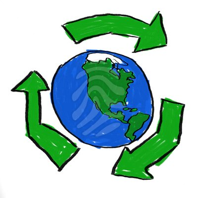 pin Earth clipart recycle #7