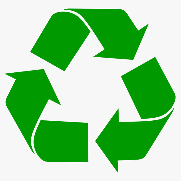 Recycle Logo 3d Model Made With 123d Clip Art