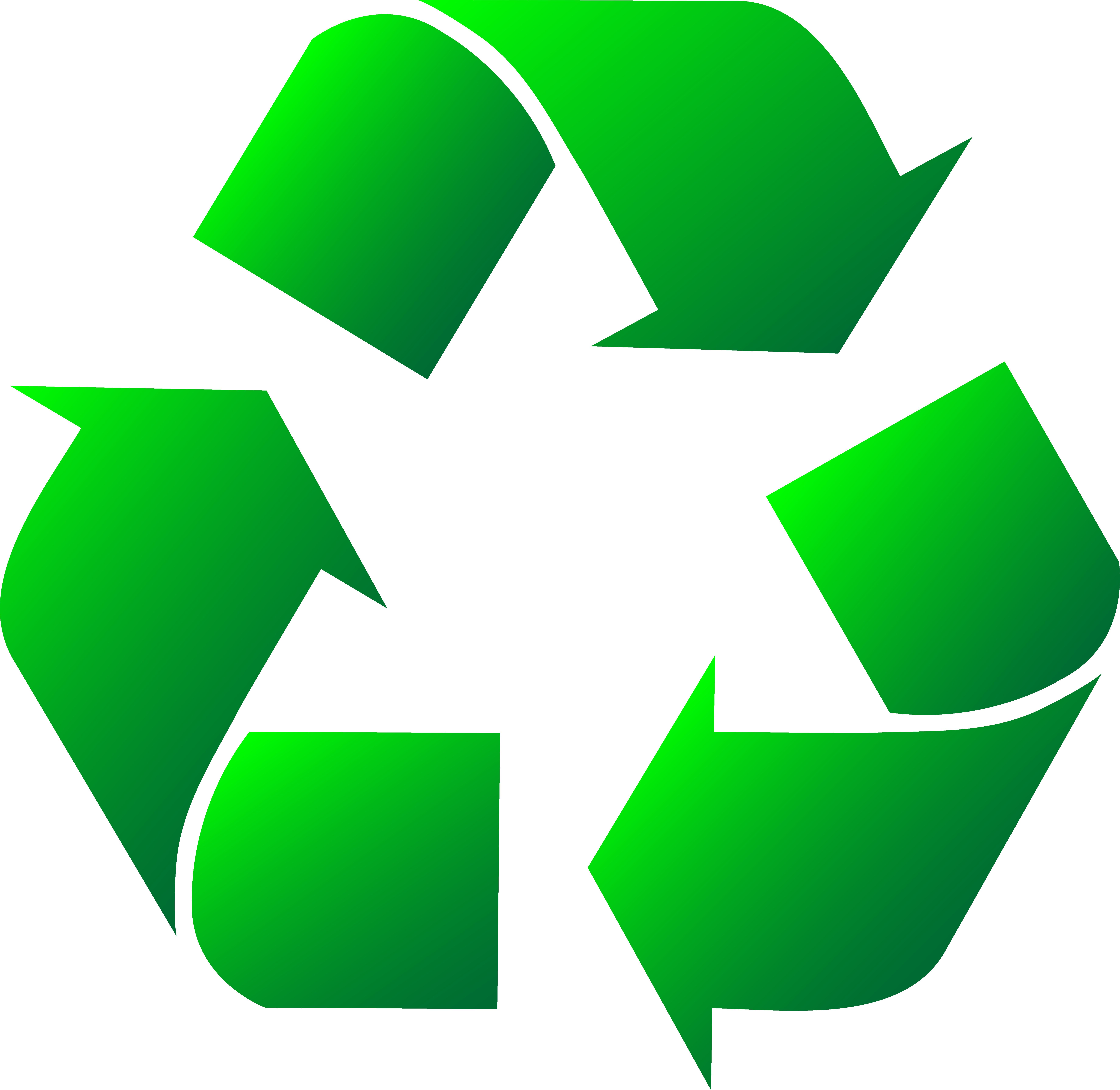 Recycle Symbol Clipart #1