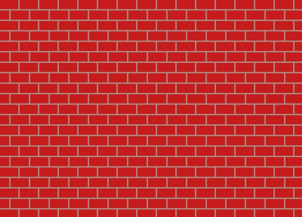 Red Brick Clipart #1