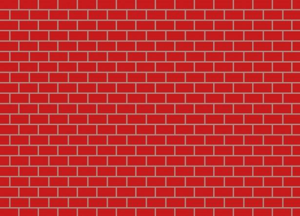 Red Brick Wall Clipart By Dawn Hudson