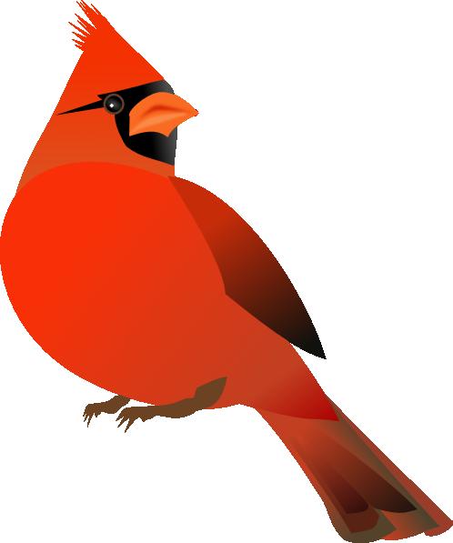 Red Cardinal Clip Art At Clker Com Vector Clip Art Online Royalty