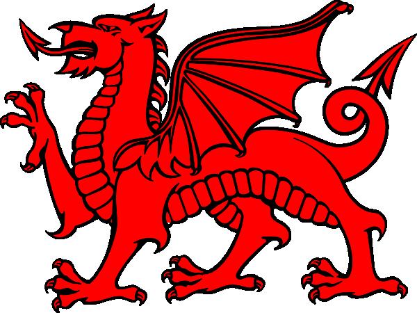 Red Dragon Clip Art At Clker Com Vector Clip Art Online Royalty