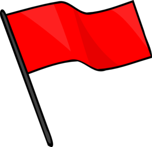 Red Flag Banner Clipart Clipart Panda Free Clipart Images
