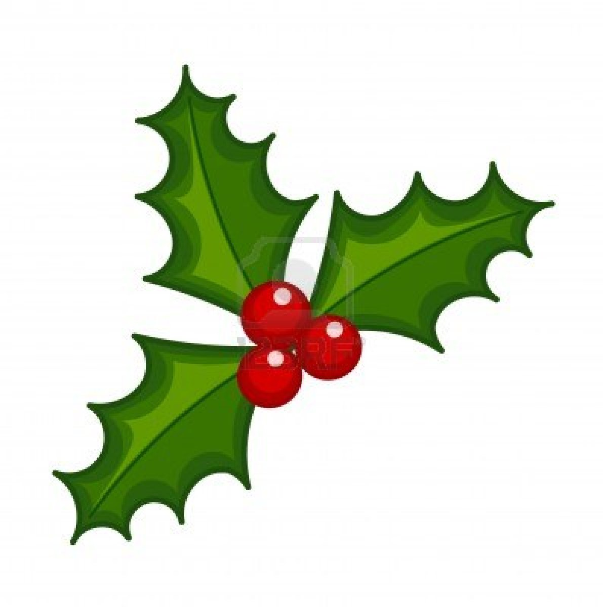 Red Holly Berry Clip Art