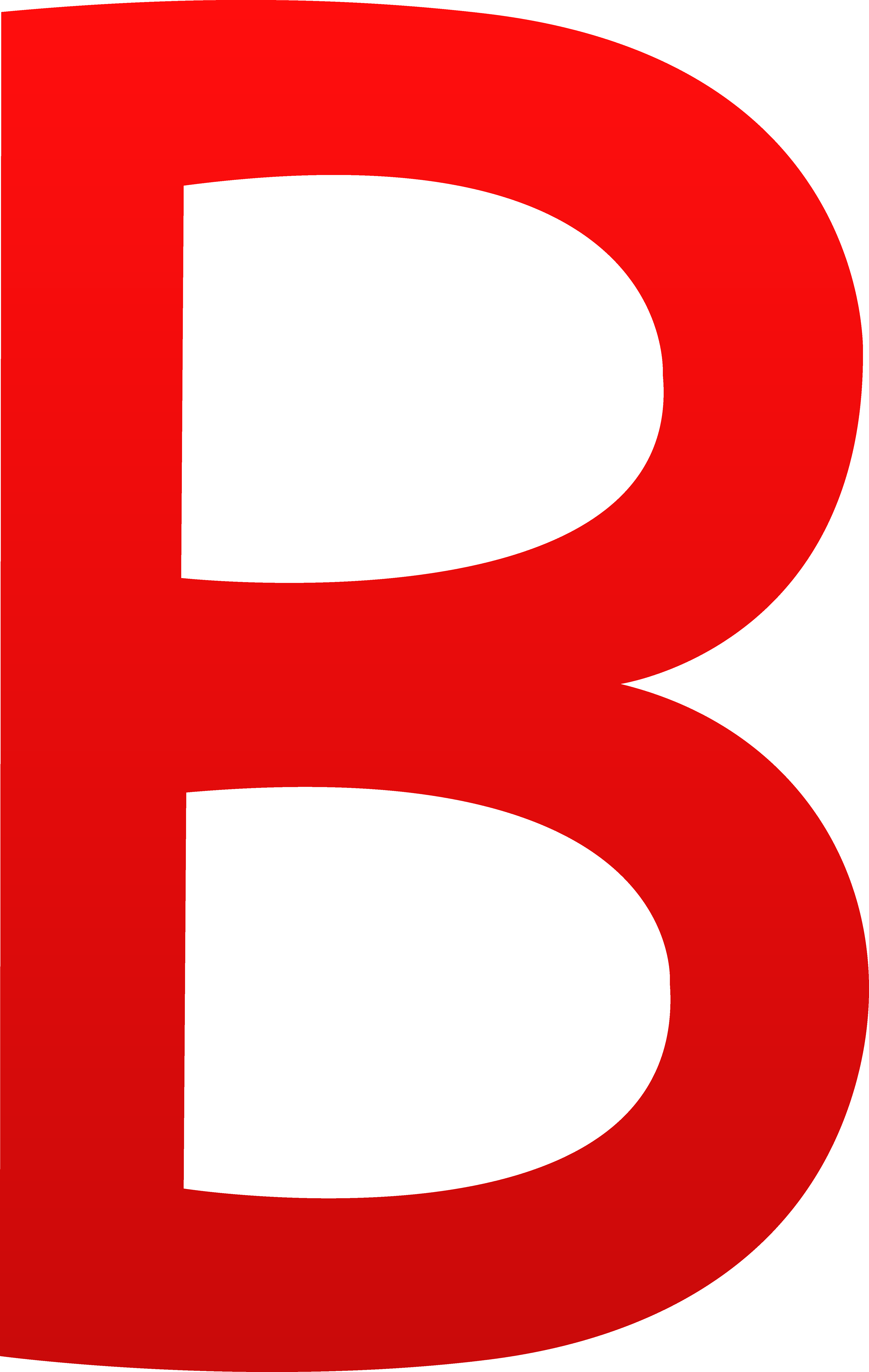 Red Letter B Clipart