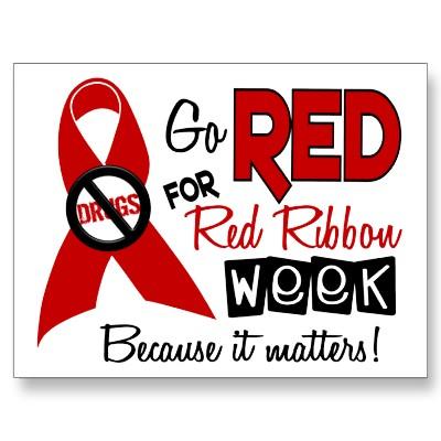 Red Ribbon Week Coloring Pages ... Permalink · Gallery