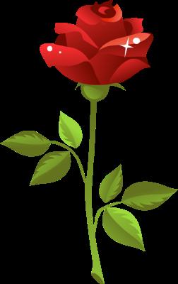 Red Rose Clip Art