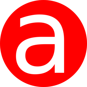 Red, Rounded, With A Clip Art