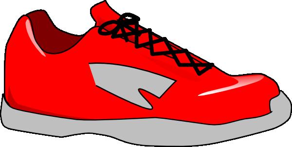 Red Shoe Clip Art At Clker Com Vector Clip Art Online Royalty Free