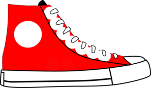 Red shoe clip art at clker vector clip art 2