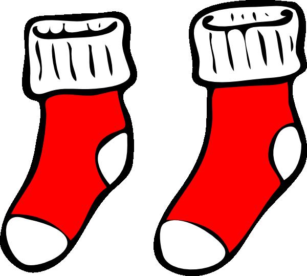 Red Socks Clip Art At Clker Com Vector Clip Art Online Royalty Free