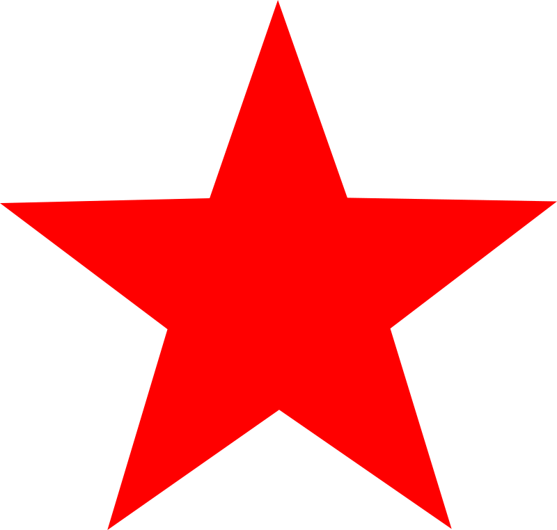 Red Star By Worker Red Star