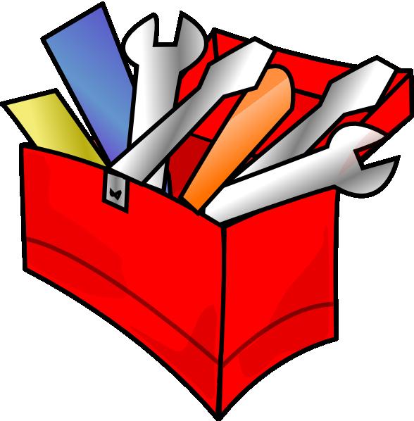 Red Toolbox Full Clip Art At Clker Com Vector Clip Art Online