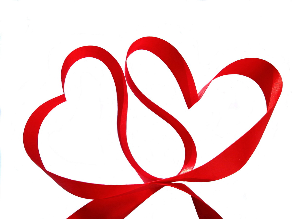 Red Wedding Hearts Clipart