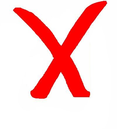 ... Red X Clipart - clipartall ...