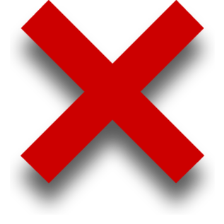 ... Red X Mark Clipart - Free to use Clip Art Resource ...