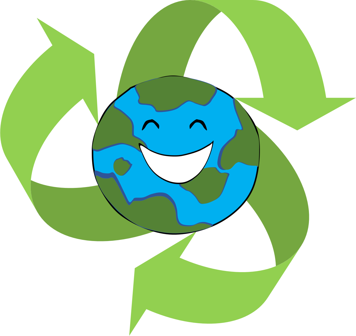 Reduce reuse recycle clipart club