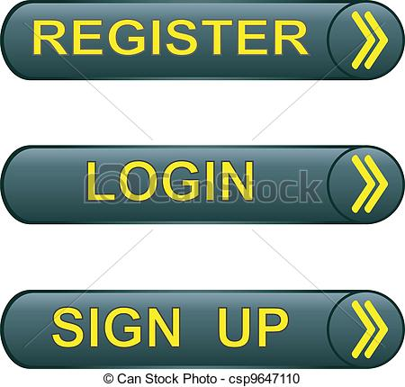 Button Register Vector