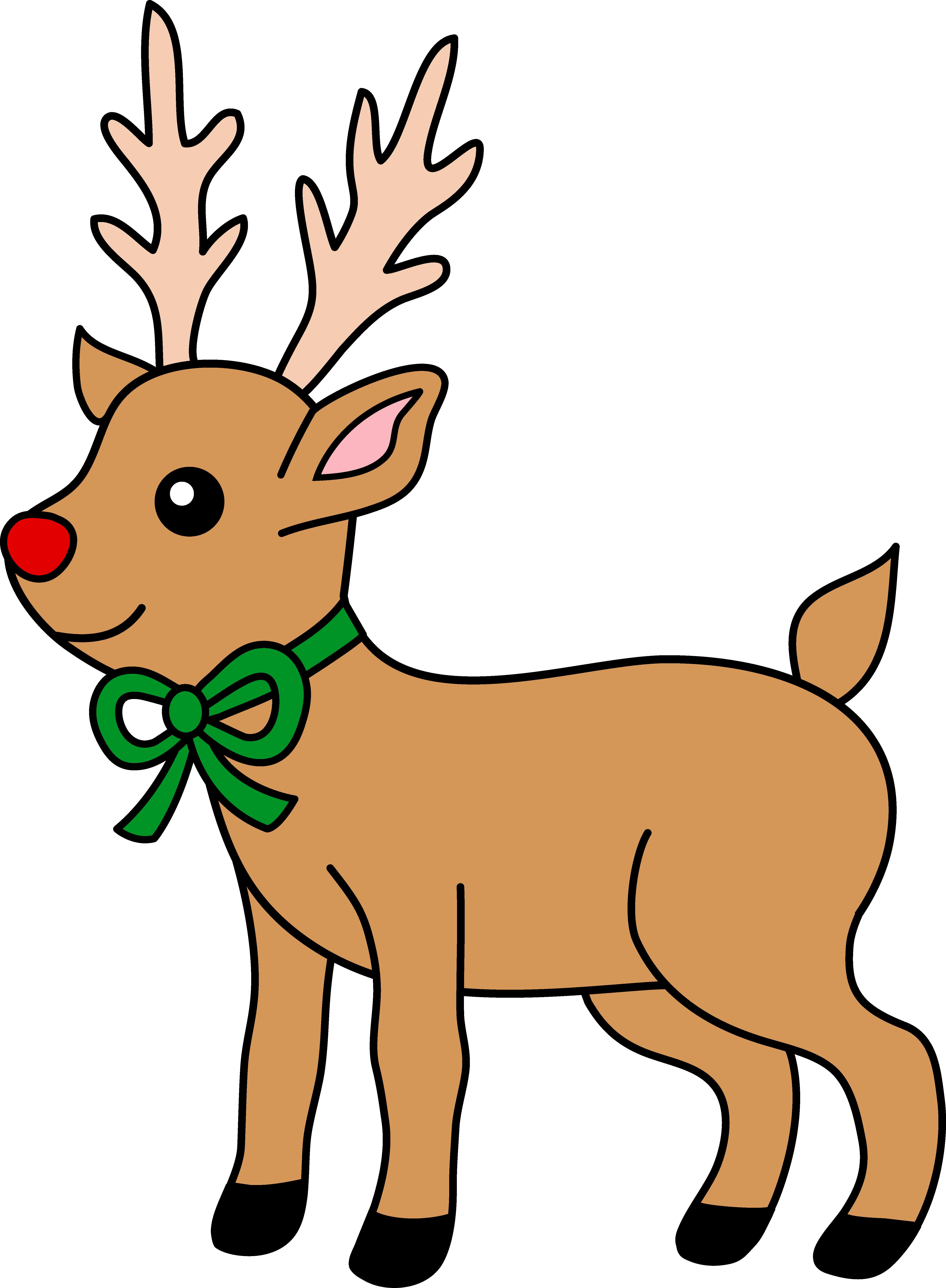 Reindeer Clipart-Clipartlook.com-4949