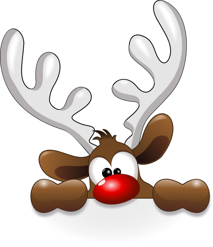 reindeer clipart free clipart funny reindeer animals cyberscooty funny  animations