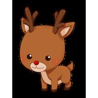 Reindeer Clipart PNG Image
