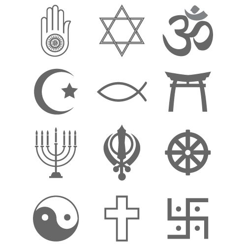 Religious symbols black u0026amp; white - GoGraph Stock Photography, Illustrations, and Clip Art allows you to quickly find the right graphic.
