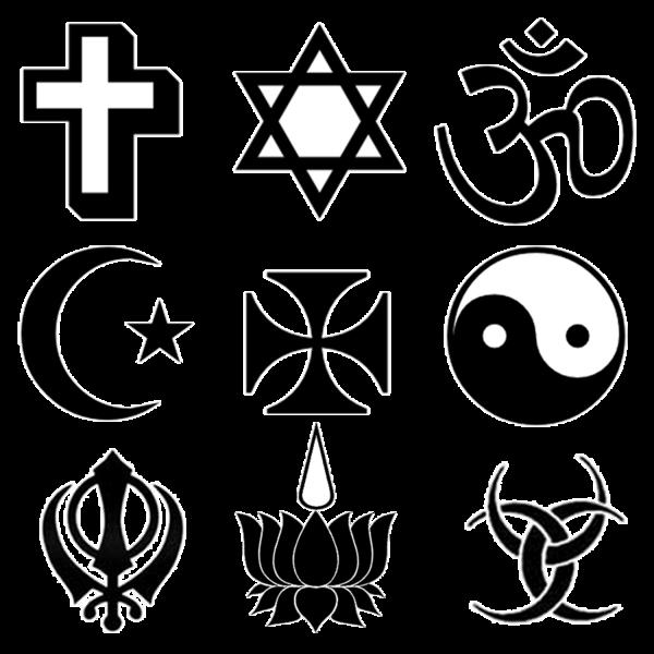 Religious Symbols Clipart