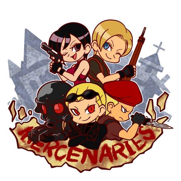 Resident Evil 4 - The Mercenaries