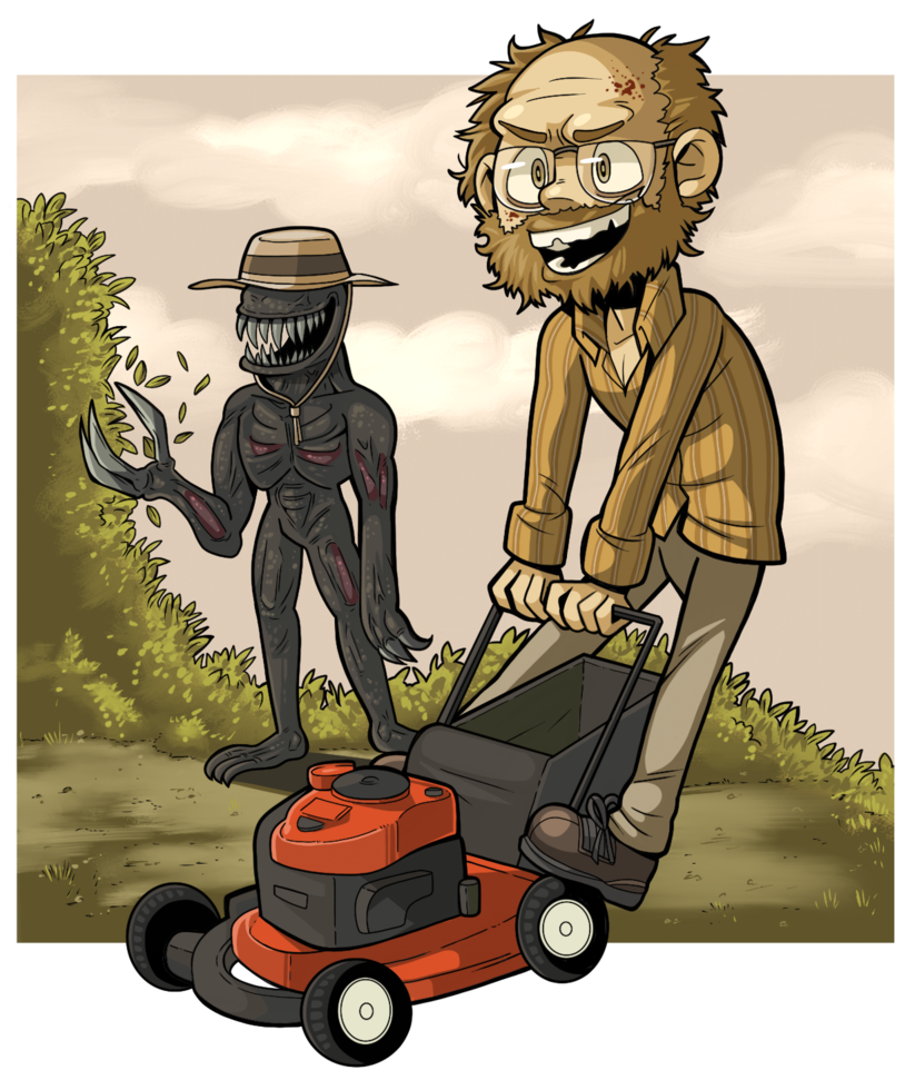 RESIDENT EVIL 7: MY MOWER! by PracticalAl ClipartLook.com