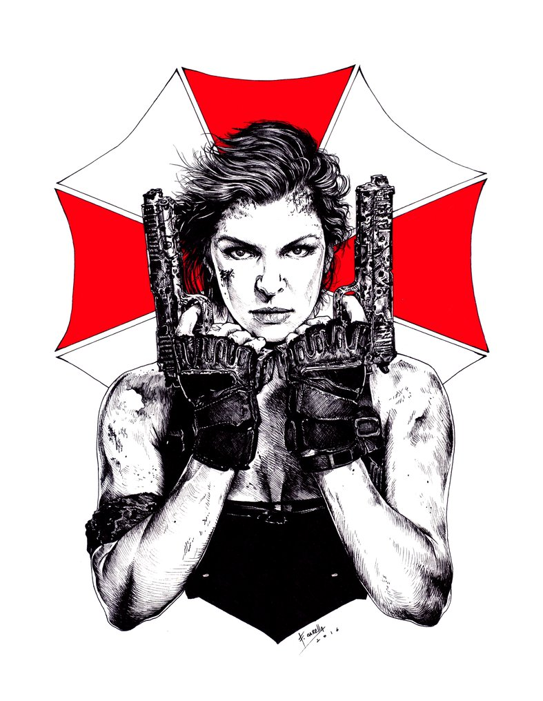 Resident Evil - The final chapter by Carella-Art ClipartLook.com