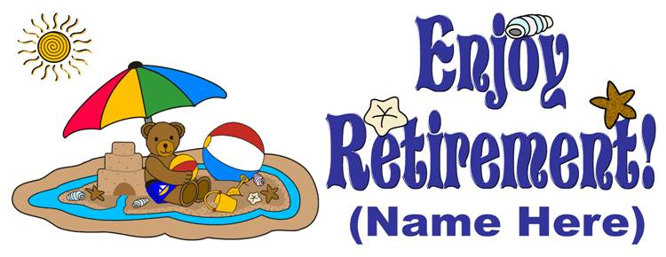 Retirement clipart farewell images free clipart