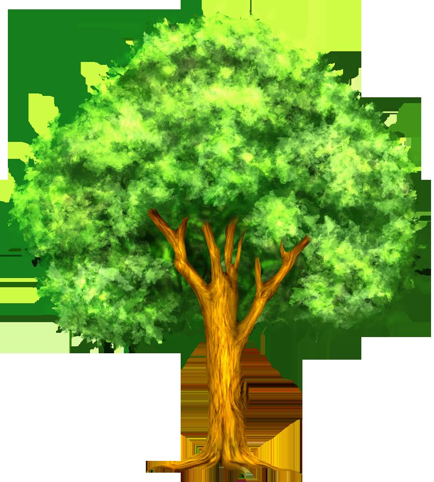 Retro tree clipart clip art