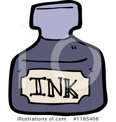 (RF) Ink Bottle Clipart .