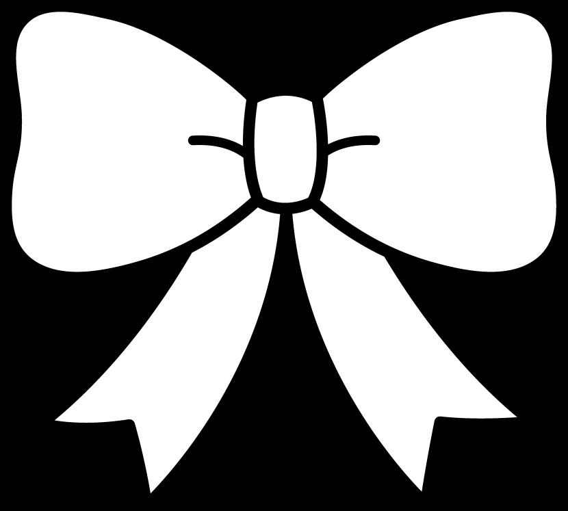 Ribbon bow clip art