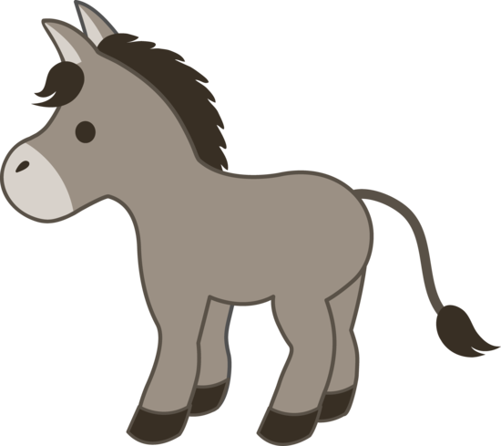 Riding a Donkey Clipart. Mary also shared with me .