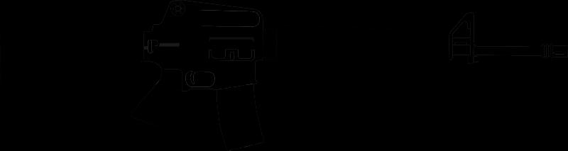 Rifles Clip Art