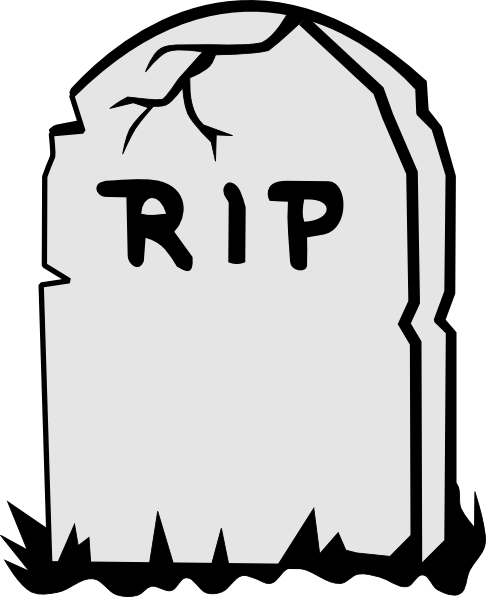 Rip Tombstone Clip Art At Clker Com Vector Clip Art Online Royalty
