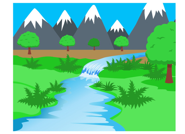 Pleasing Clipart Of A River 89 About Remodel Free Clip Art with Clipart Of  A River