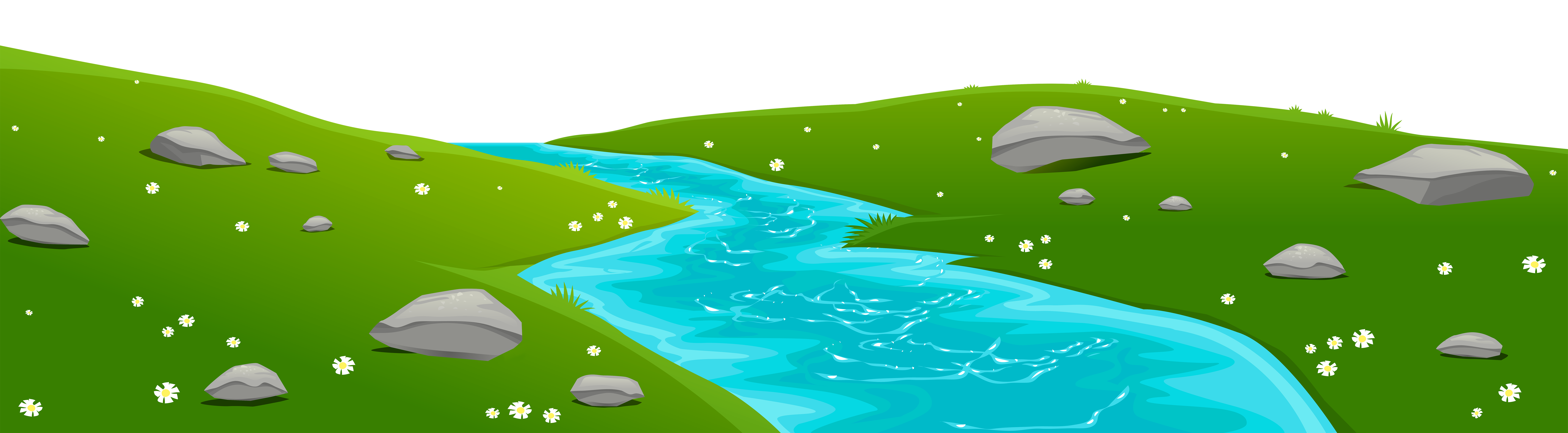 River Landscape Clipart River Water #5