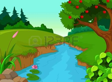 Superb River Clipart 43 For Your Science Clipart With River Clipart