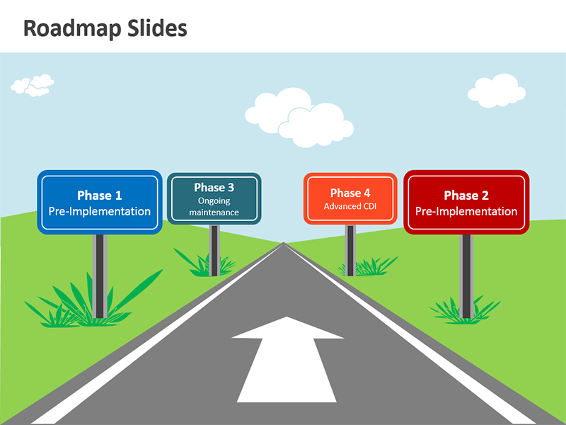 Roadmap Clipart