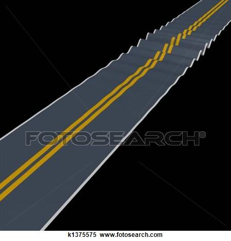 Rugged Roads Clipart #1