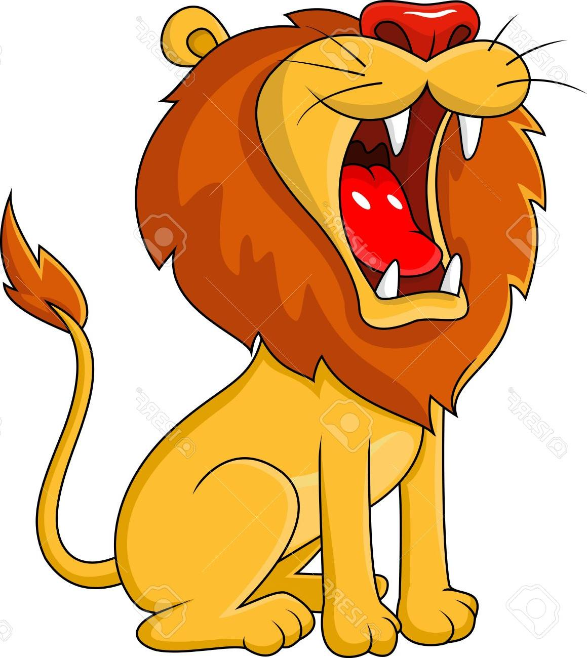 lion roar clipart 11