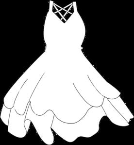 Robe Blanche Clip Art