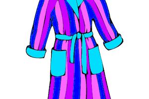 robe clipart 1