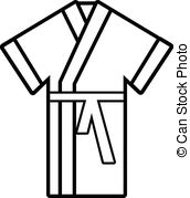 . hdclipartall.com Robe icon , outline style - Robe icon. Outline illustration.