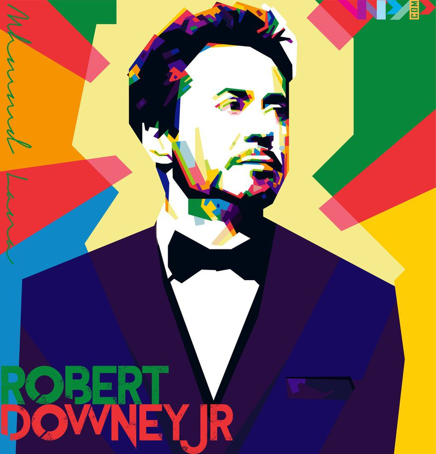Robert Downey Jr by Lana1412al hdclipartall.com