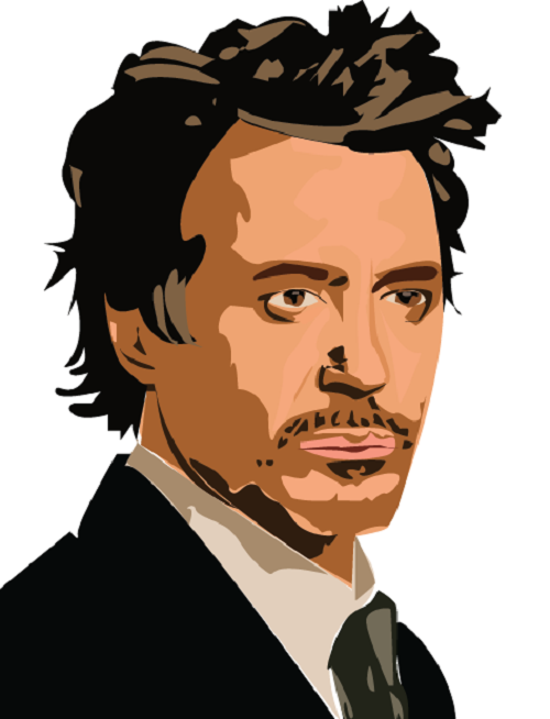 Robert Downey Jr. By Whatchutalkinbout Hdclipartall.com